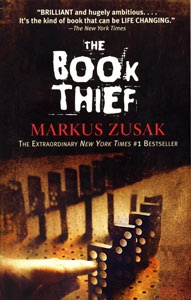 the book theif by markus zusak:  a book that taps into the soul of humanity.  Set in WWII Germany and narrated by death.  A suggestion from my neighbor and I am better for reading it!