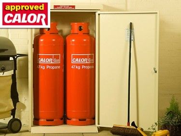 The Asgard Approved by Calor Gas Twin Storage