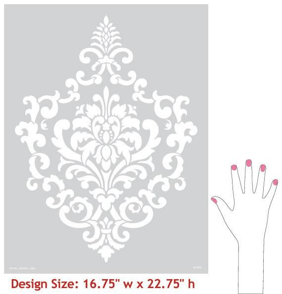 Wall Stencils Royal Design : Best images about royal design studio stencils on