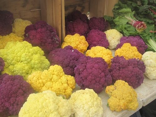 Post image for Monica's Indian Express: Spice Rubbed Purple Cauliflower