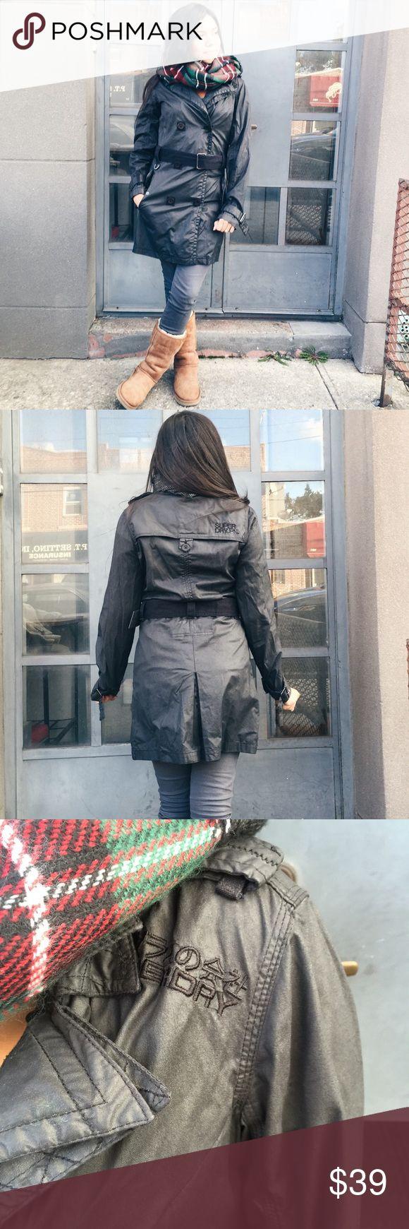 Superdry jacket Sz small S black Superdry jacket. Sz small. Good condition. Superdry Jackets & Coats