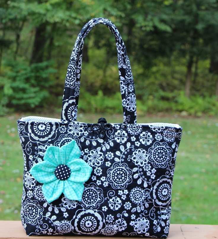 Homemade quilted tote/purse.