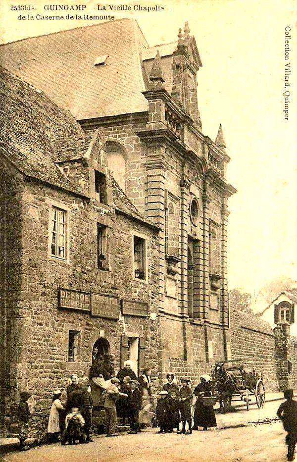 Guingamp (Bretagne) : chapelle Hôtel-Dieu.