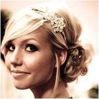 Romantic Hair Style, bridesmaid idea - Alex's wedding