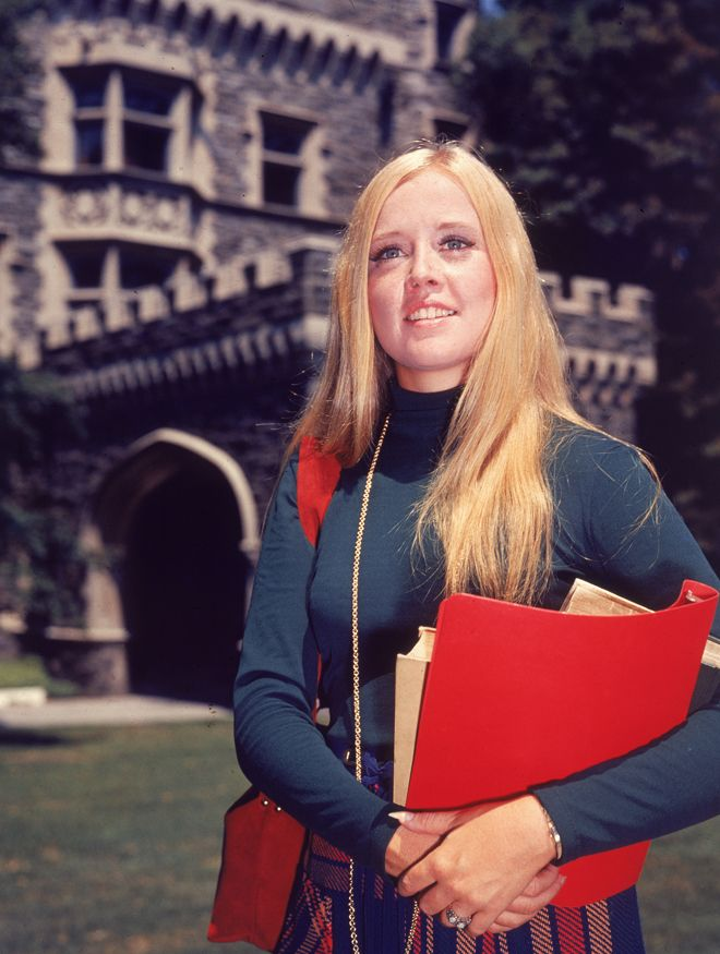 College Student Style Was Just As Cool In The '70s (PHOTO)