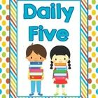 Keep your classroom organized with these Daily Five Posters!  In this adorable pack, you will get a Daily Five title poster and a poster for each o...