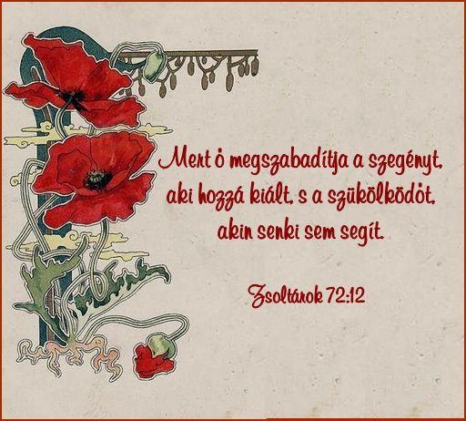 Zsoltárok 72:12