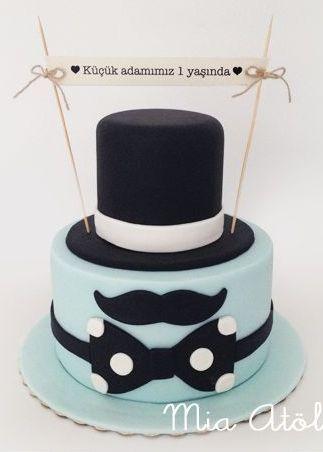 Men's birthday cake