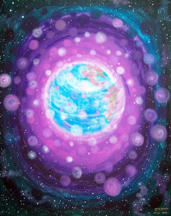 ✨The violet flame✨ call upon it to clear and heal the collective energy of our planet ❤