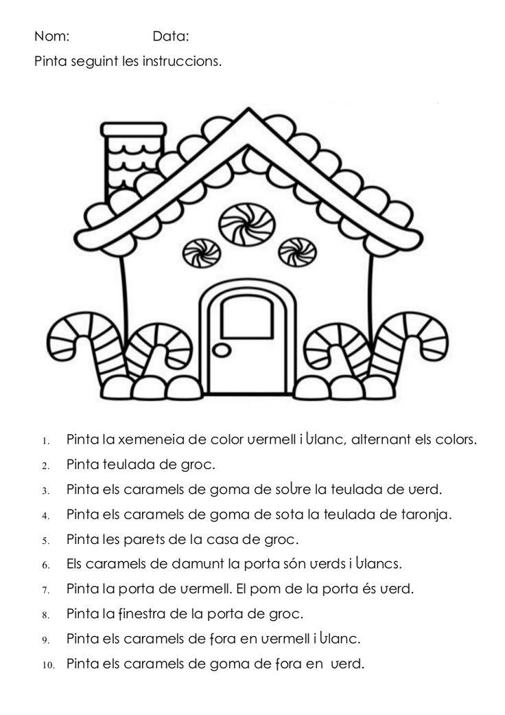 Comprensió lectora. Versió en català (sobre/sota) i balear (damunt/davall).