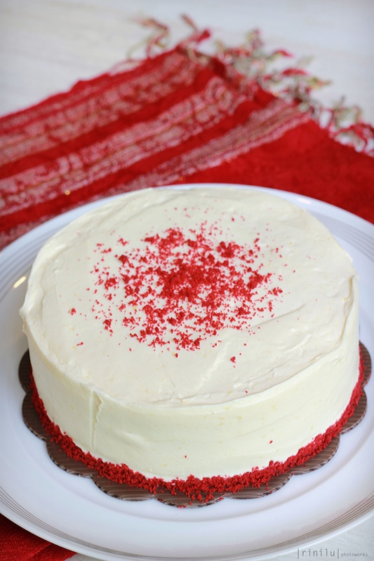 Homemade Red Velvet Cake - The Bake Bits