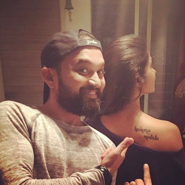 Like That Tattoo On My Shoulder We Aint Ever Getting Older Happy Pratzo Day My Oldest And Sturdies Jennifer Winget Tattoo Jennifer Winget Jennifer