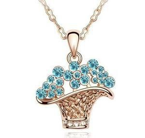 Aliexpress.com : Buy Min order 6pcs/lot(Mix Color) New 2013 Unique Women Handbag Pendant Rhinestone Necklace Wholesale Jewelry Sets Free shipping from Reliable Pendant suppliers on Hopenhagen store_ Jewelry Wholesale
