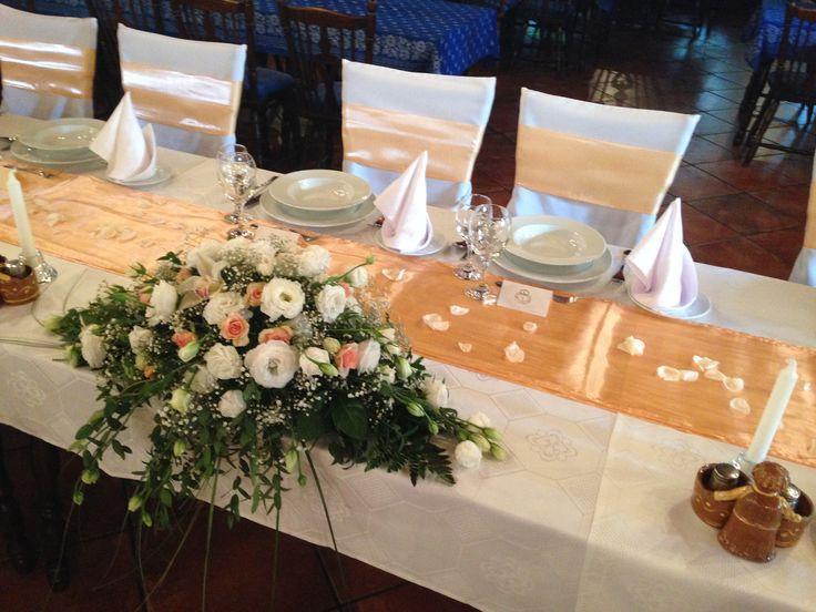 főasztaldísz esküvőre