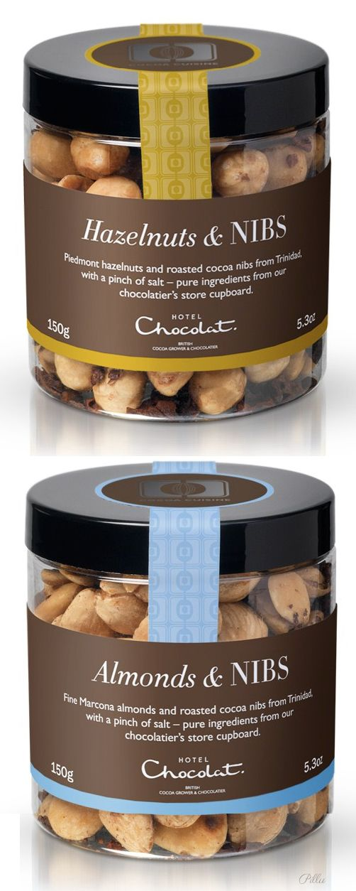 Hotel Chocolat-(Cocoa Cuisine Collection).Hazelnuts & NIBS, Almonds & NIBS