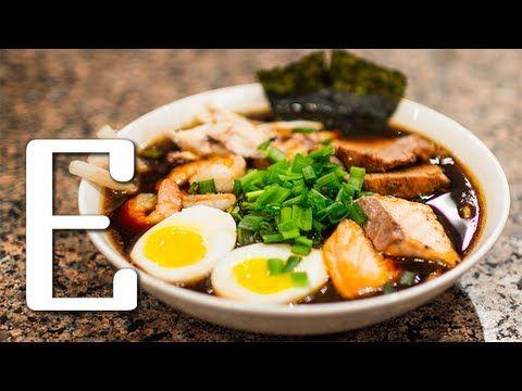 Японский суп рамен - классический рецепт приготовления +фото