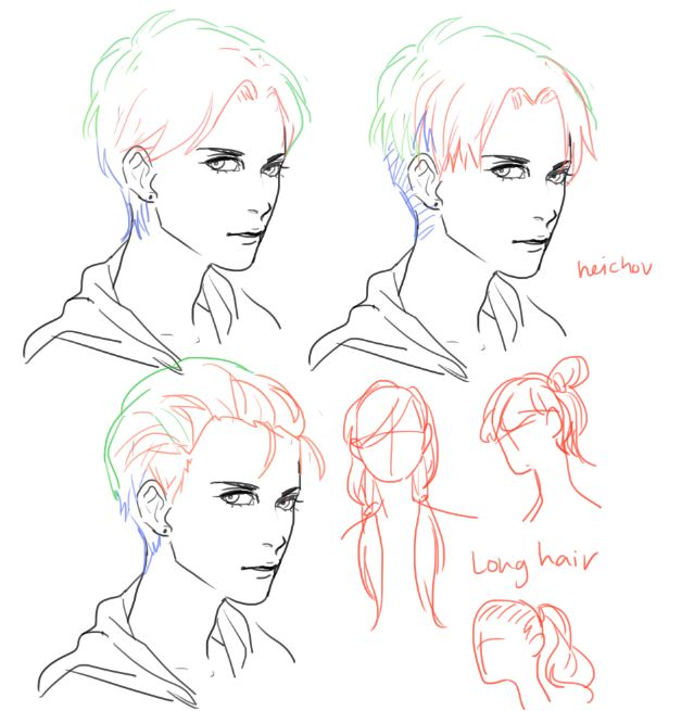 Someone Asked About Light Dark Hair/ Hairstyles So HOPE IT