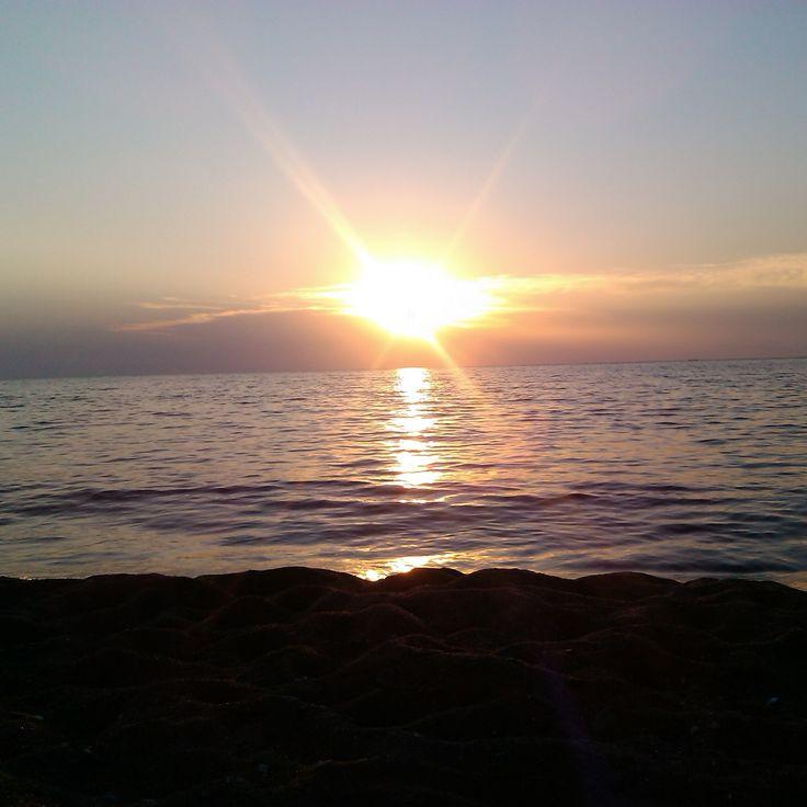 Myrina sunset, Limnos island photo by Electra Koutouki 2014