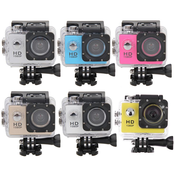 "2.0"" Screen Camera Ultra HD 1080P 30 Meters Waterproof Action Camcorder Sports DV Hunting Camera with Waterproof Housing Case"