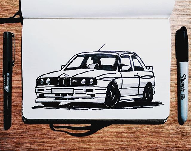 Bmw E30 M3 Version Zwei This Is Version Two For Today S