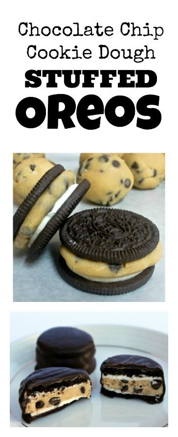 Oreos and cookie dough are a match made in heaven. Oreos are amazing, cookie dough is amazing but together WOW! So so good!