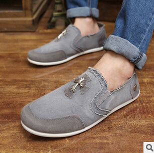 Men Fashion Splicing Anti-slip Canvas Casual Shoes buy cheap wholesale price many kinds of sale online clearance brand new unisex discount 2015 qRgCgkVl
