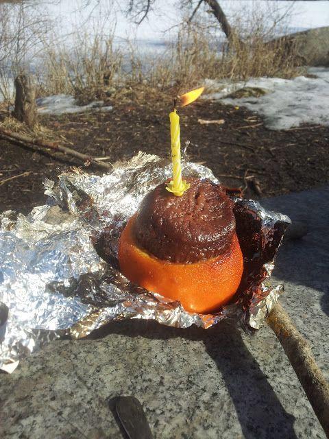 Gunns momsemat: Sjokoladekake på bål