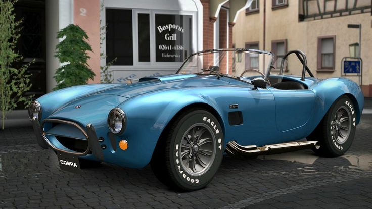 1966 Shelby 427 Cobra Convertible  - Fastest Classic Muscle Cars: Top 10 List of Muscle Cars from the Past