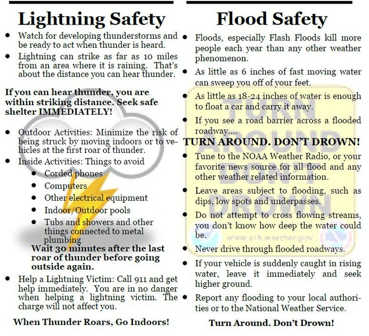 Severe Weather Safety : Best images about severe weather safety tips on