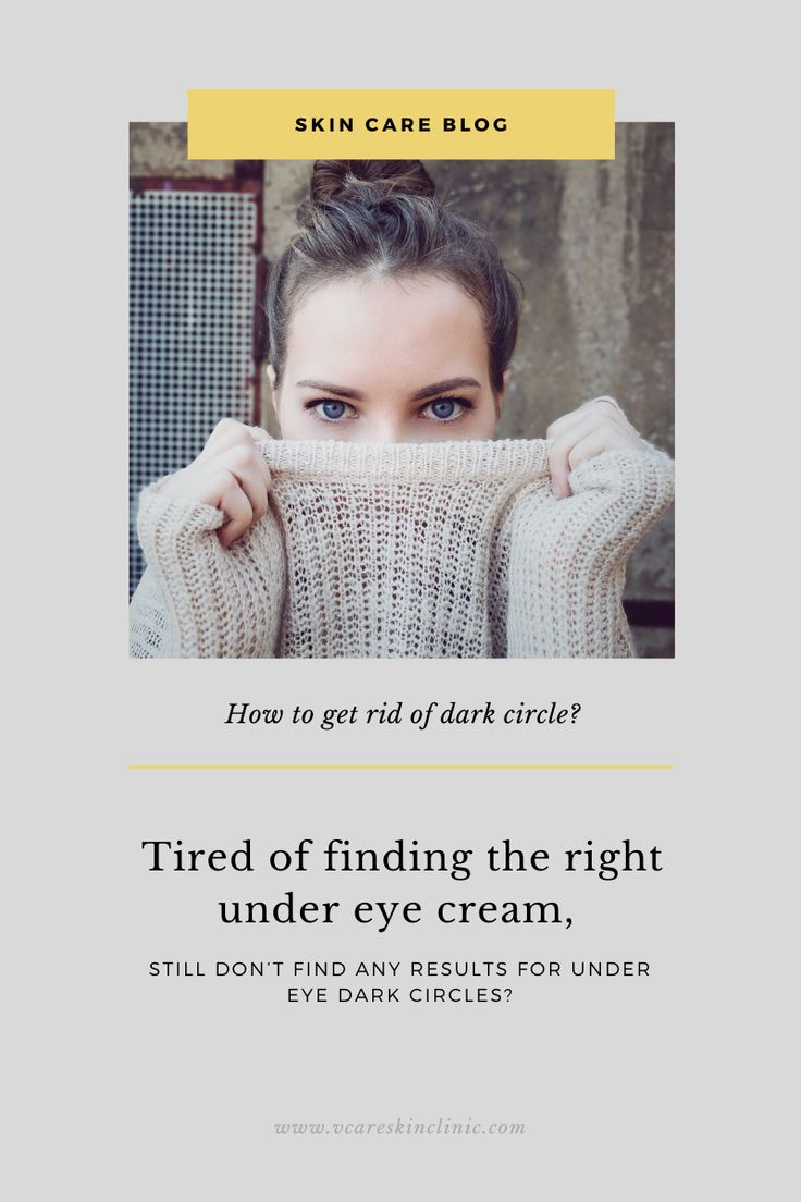 How to get rid of dark circles | Dark circles, Skin care ...