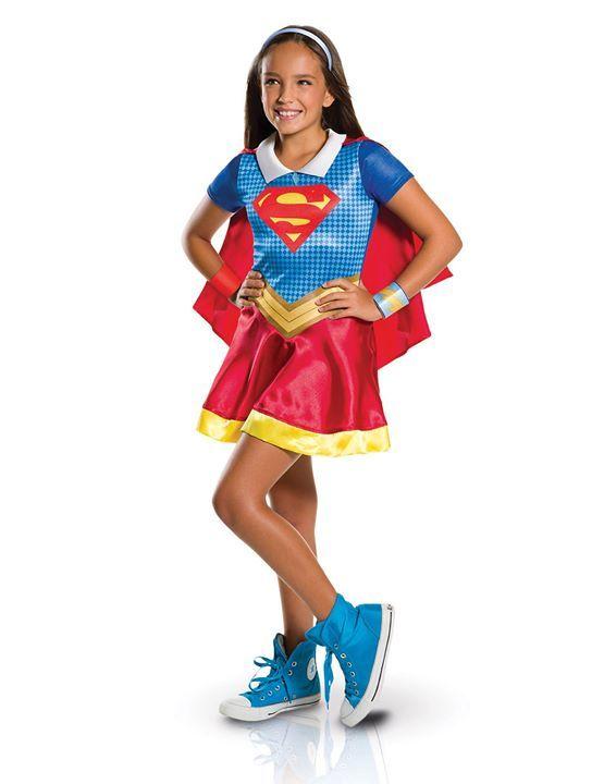 #AW @DeguiseToi  [ #COSTUME ] Déguisement classique pour fille en #Supergirl de chez #DeguiseToi en #Superhero !  http://tidd.ly/4852c787