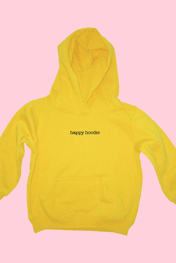 74a95451b69e Happy Hoodie (Yellow) - Joey Kidney - Official Online Store on District  LinesDistrict Lines