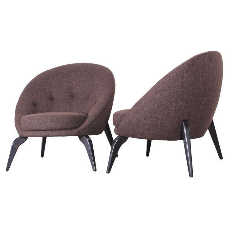 Pair of Spider Leg Chairs in the style of Jean Royere, 1950 | 1stdibs.com
