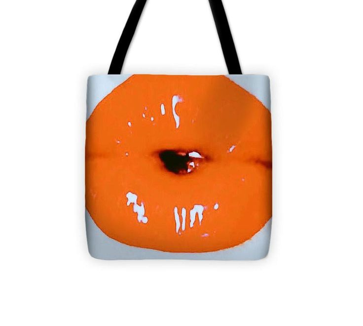 Brilliantly Coral Lips - Tote Bag