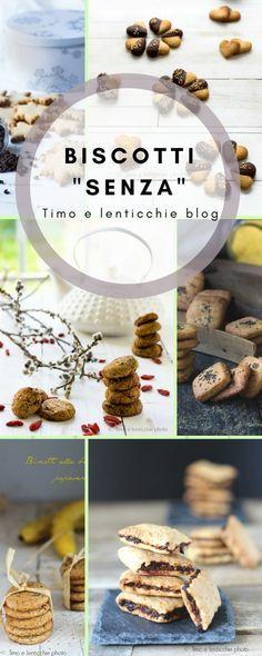 Biscotti senza burro - uova - zucchero - glutine - raccolta ricette