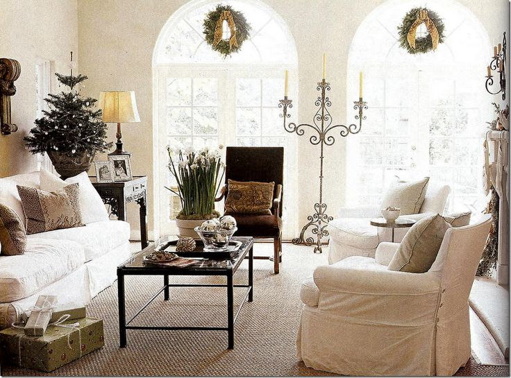 Michelle Stewart's Home and Design.  Love the Whites and Brown Velvets.