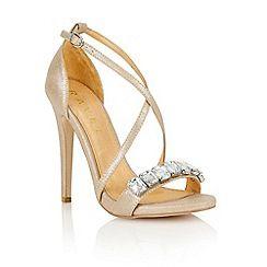 Gold Shoes & Sandals at Debenhams.com