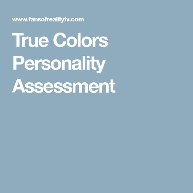 Best  Personality Assessment Ideas On   Personality