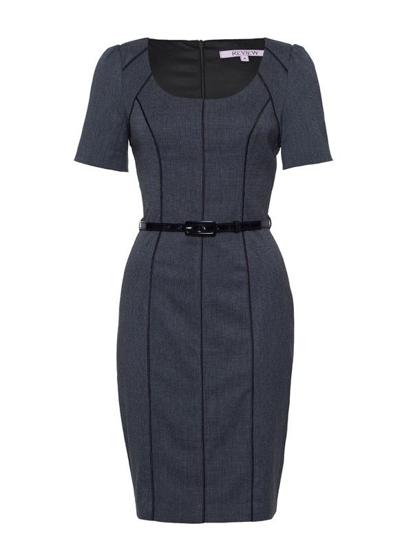 Review Australia | Perry Dress Charcoal