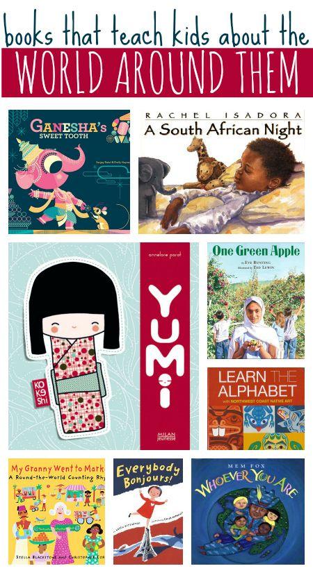 Book that Teach Kids About the World Around them
