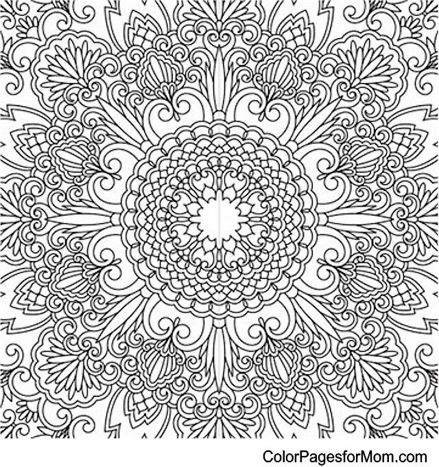 free find this pin and more on intricate coloring adult mandala coloring page with intricate