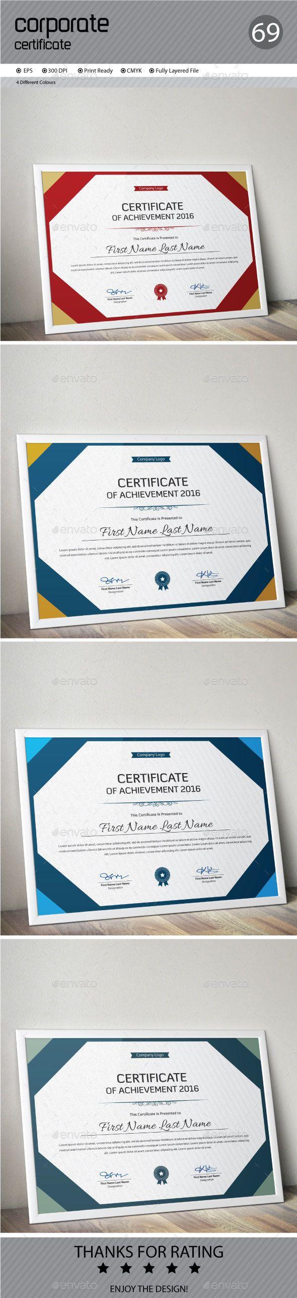 Certificate Template Vector EPS. Download here: http://graphicriver.net/item/certificate/15380322?ref=ksioks