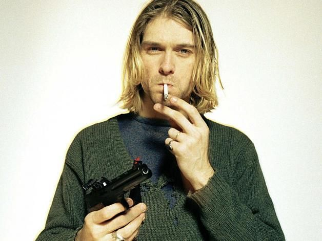 10 Things You Didn't Know About Kurt Cobain - '[...] he and his friends tagged that particular YMCA. The next day at work, Cobain was assigned the task of washing it off. Poetic.'   Clash Mag
