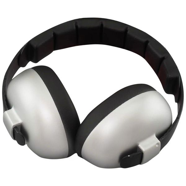 Make sure your little one is safe 'n' sound with Baby Banz Mini Muffs in 'Silver'! Suit under 2 years; $44.50.