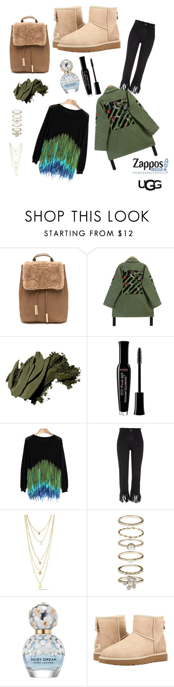 """""""Ugg?? My favourite boots!!!❤️"""" by ocagiuliva ❤ liked on Polyvore featuring Chicnova Fashion, Bobbi Brown Cosmetics, Bourjois, River Island, Accessorize, Marc Jacobs, UGG Australia, ugg and contestentry"""