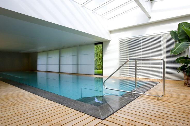 25 beste idee n over binnenzwembaden op pinterest for Binnenzwembad bouwen