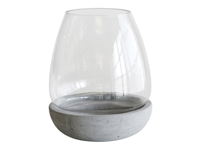 Grey Hurricane Lamp from @Home, R79.00