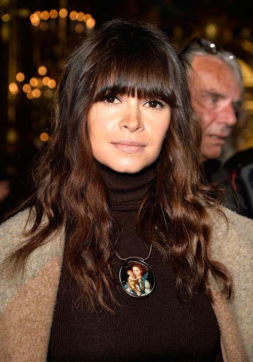 1970s Hairstyles With Bangs: Miroslava Duma  #hair #bangs #fringe