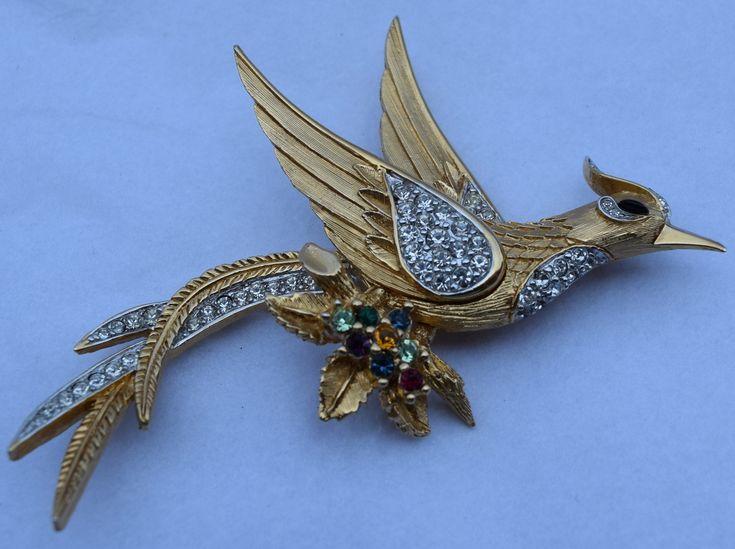 D'orlan Bird Brooch Pin