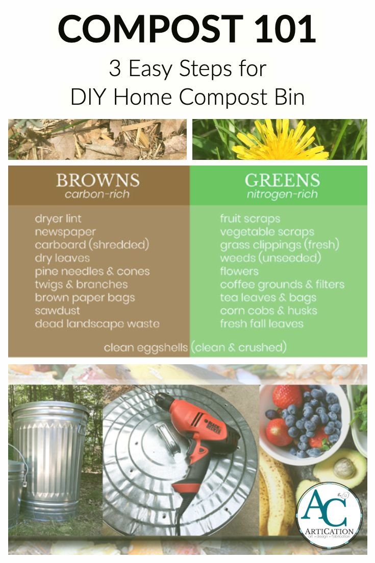 Composting 101 3 Easy Steps To Start A Home Compost Bin Compost